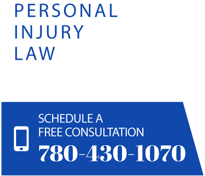 Personal Injury Law. Schedule a free consultation 780-430-1070